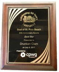 St. Pete Beach 60th Anniversary Awards - Best Bar